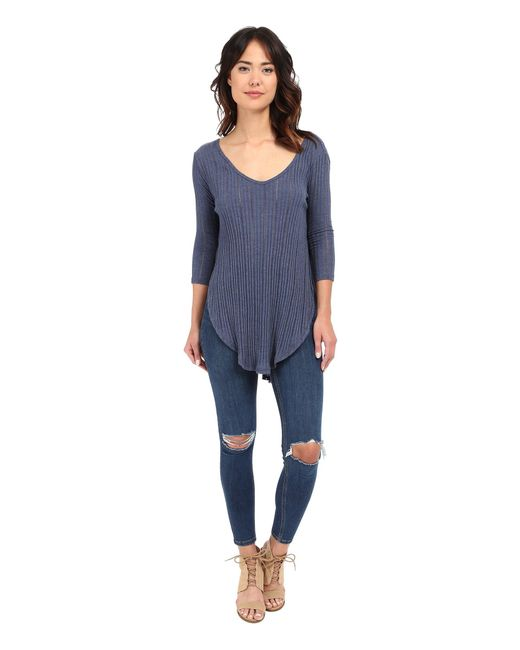 Free People - Blue Astroia Hacci - Lyst
