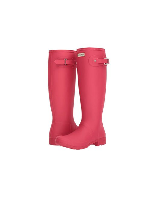 Hunter - Pink Original Tour Rain Boot - Lyst