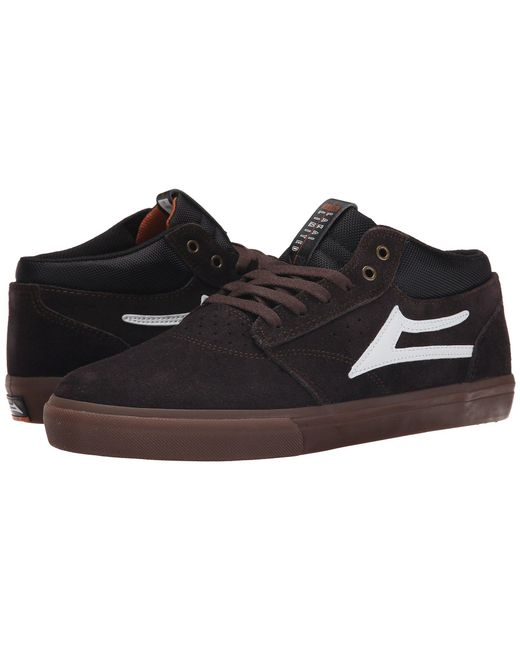 Lakai - Brown Griffin Mid for Men - Lyst