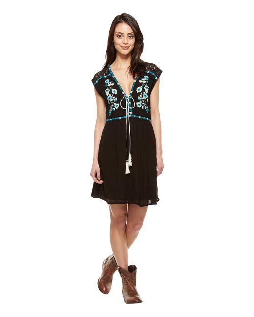 Double D Ranchwear | Black Rambling Rose Dress | Lyst
