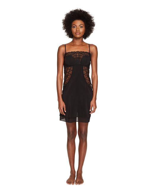 La Perla - Black Soutache Short Dress - Lyst