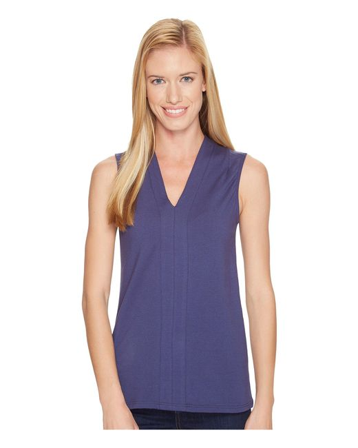 Fig Clothing - Purple Mag Top - Lyst