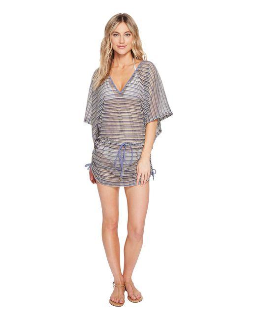 Luli Fama - Multicolor Desert Babe Cabana V-neck Dress Cover-up - Lyst