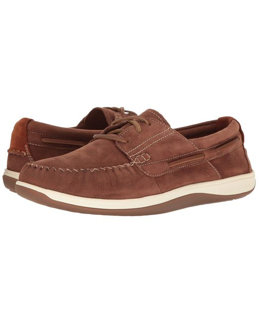 Cole Haan - Brown Boothbay Boat Shoe for Men - Lyst