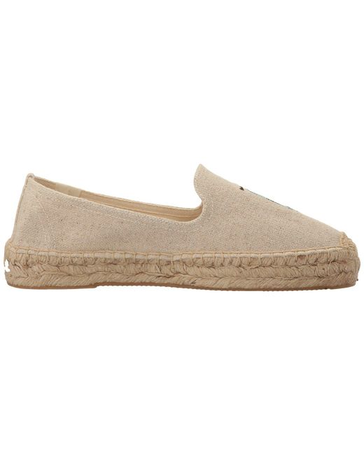 Soludos Scooter Embroidered Platform Smoking Slipper XiHj7Y