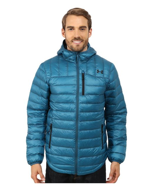 Under Armour - Blue Ua Cgi Turing Hooded Jacket for Men - Lyst