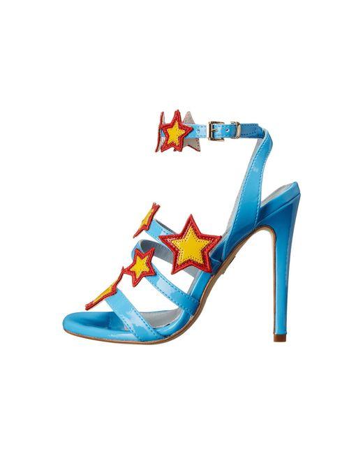 Stars Patent Strappy Heels Chiara Ferragni P7BOiVRV