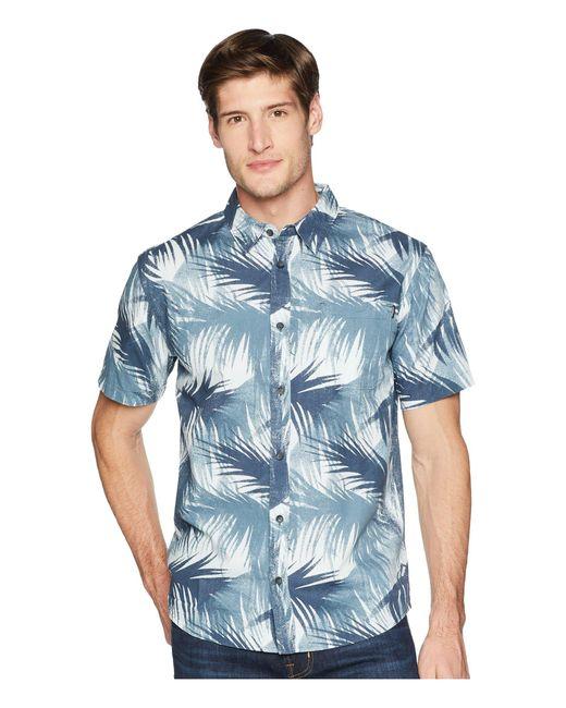 O'neill Sportswear - Blue Geronimo Short Sleeve Woven Top for Men - Lyst
