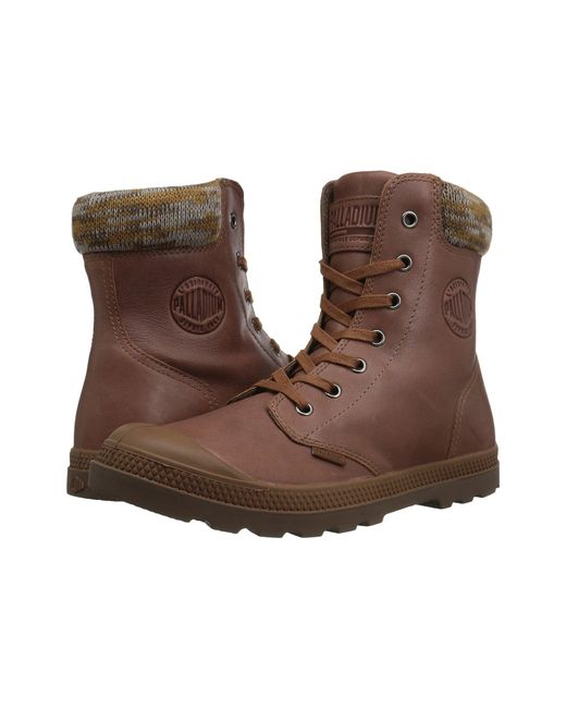 Palladium - Brown Pampa Hi Knt Lp - Lyst
