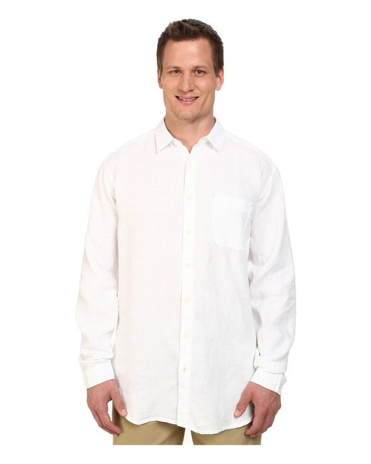 Tommy Bahama | White Big & Tall New L/s Seaglass Breezer for Men | Lyst