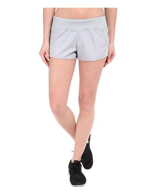 Nike | Gray Dri-fittm Crew Shorts | Lyst
