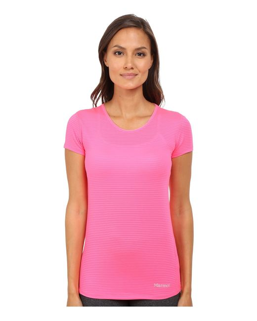 Marmot | Pink Aero Short Sleeve | Lyst