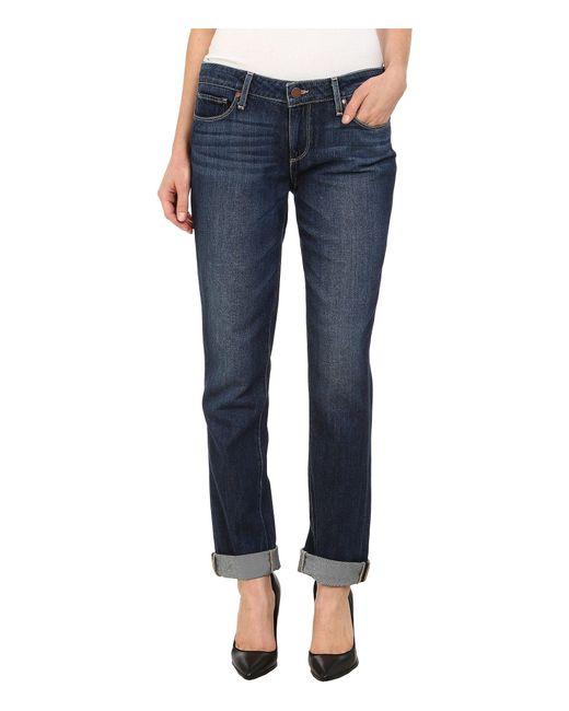 PAIGE | Blue Jimmy Jimmy Skinny Jeans In Elia | Lyst