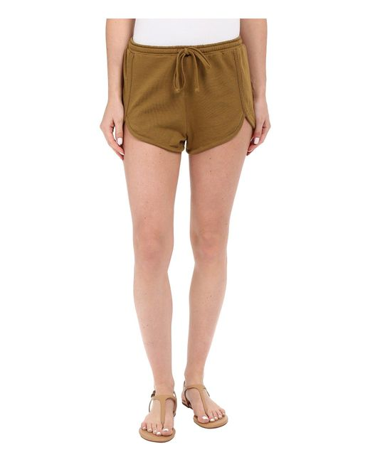 Volcom | Multicolor Lived In Fleece Shorts | Lyst