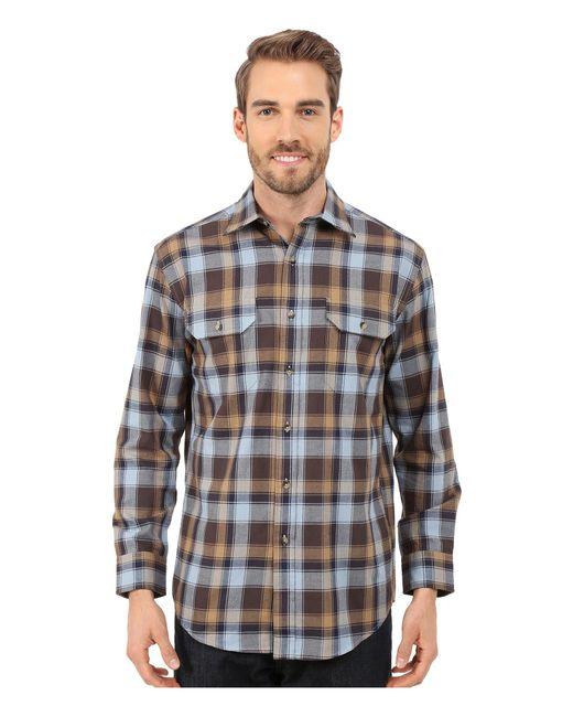 Pendleton | Blue Pioneer Shirt for Men | Lyst