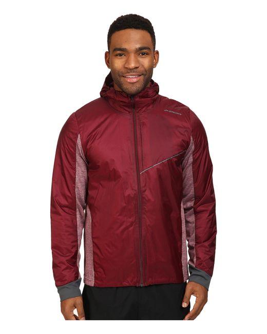 Brooks | Red Lsd Thermal Jacket for Men | Lyst
