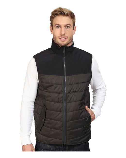 Woolrich | Gray Wool Loft Insulated Vest for Men | Lyst