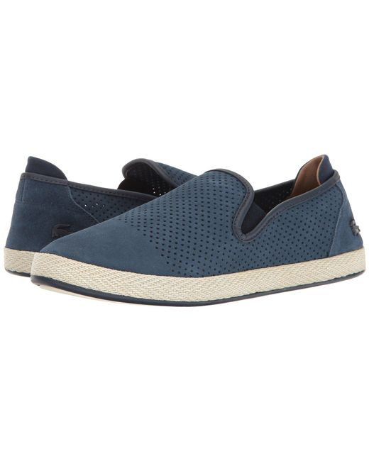 Lacoste | Blue Tombre Slip-on 117 1 Cam for Men | Lyst