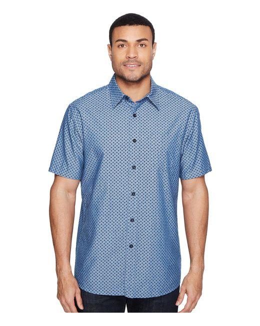 Pendleton   Blue Tennyson Shirt Ditsy Foulard for Men   Lyst