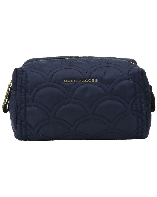 Marc Jacobs | Blue Easy Matelasse Large Cosmetic | Lyst