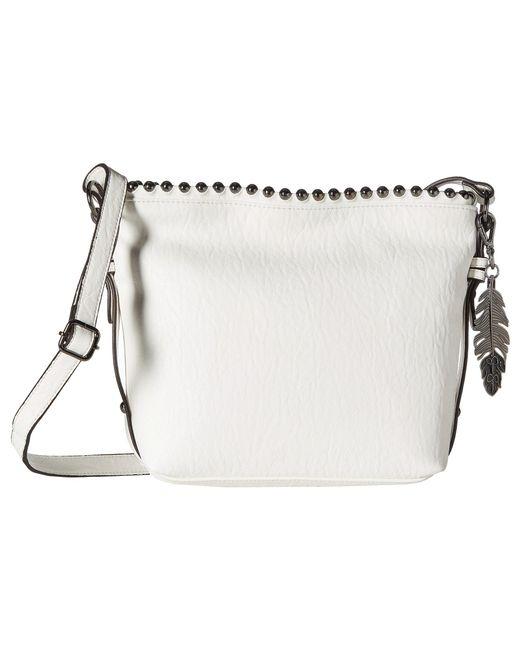 Jessica Simpson | White Camile Bucket Crossbody | Lyst