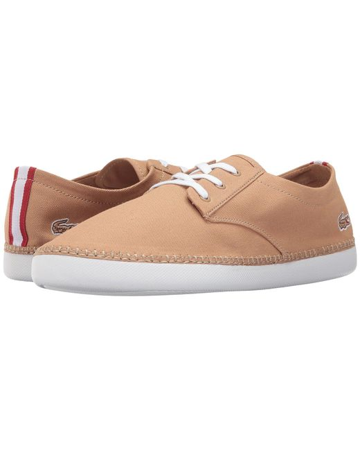 Lacoste | Brown L.ydro Deck 117 1 for Men | Lyst