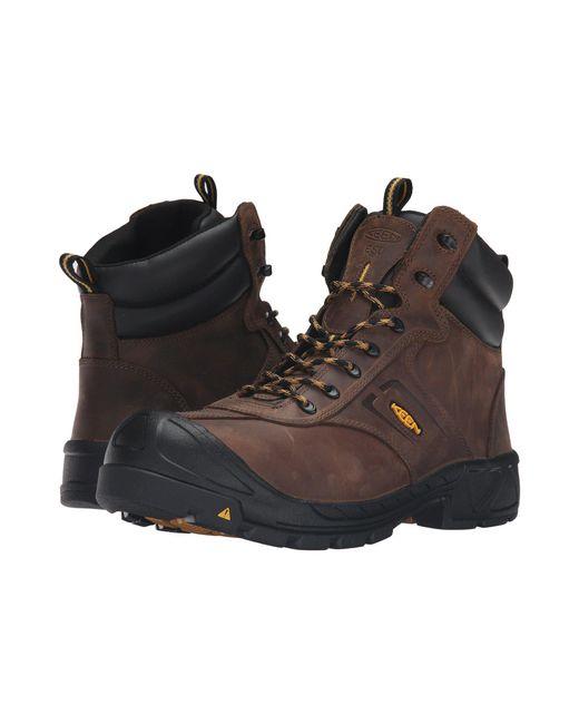 Keen Utility - Brown Warren Esd Boot (steel Toe) for Men - Lyst