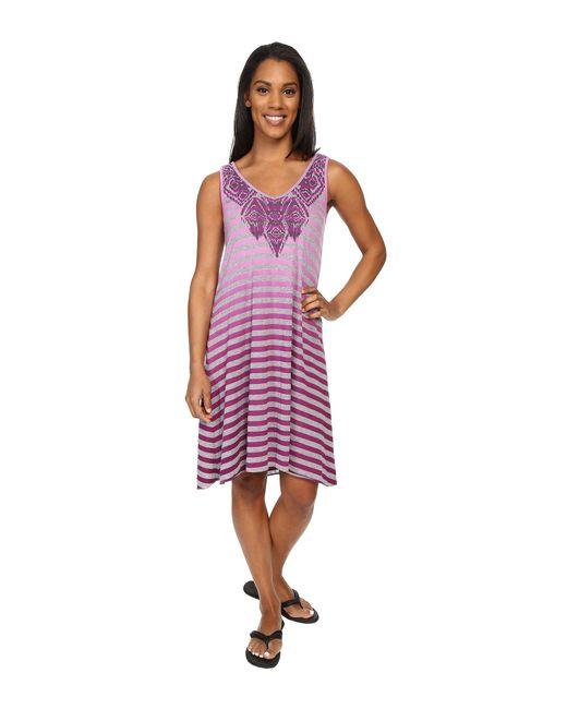 Prana - Purple Henna Dress - Lyst