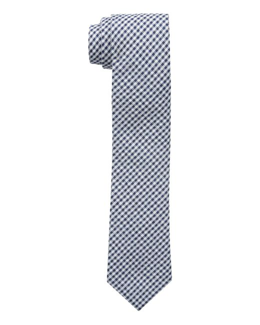 Tommy Hilfiger - Blue Micro Gingham for Men - Lyst