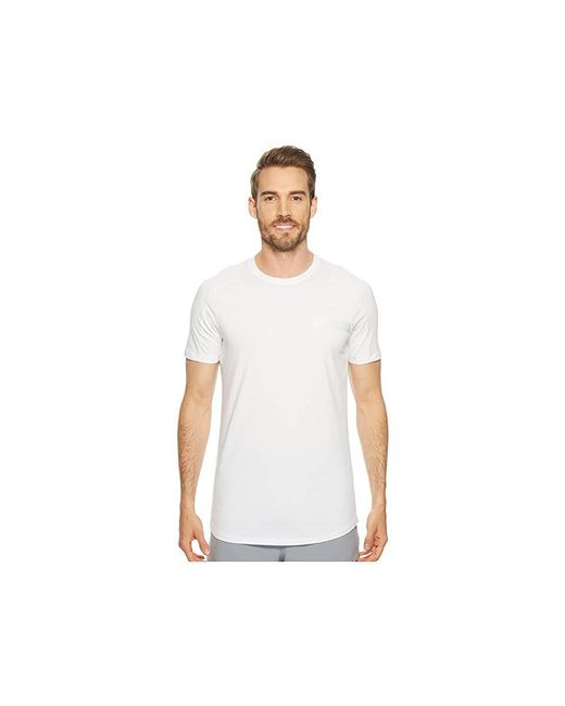 7beb9a33d Under Armour - Perpetual Short Sleeve Graphic Tee (white/steel) T Shirt for  ...