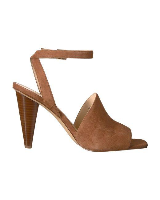 e88577da5e1 Lyst - Nine West Sandals in Brown - Save 62.01550387596899%