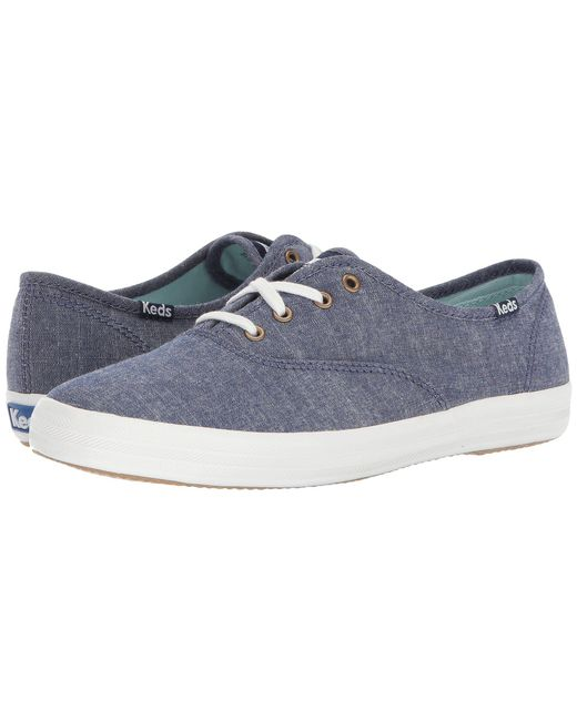 71bed50e3a0 Lyst - Keds Champion Seasonal Solid in Blue - Save 9%