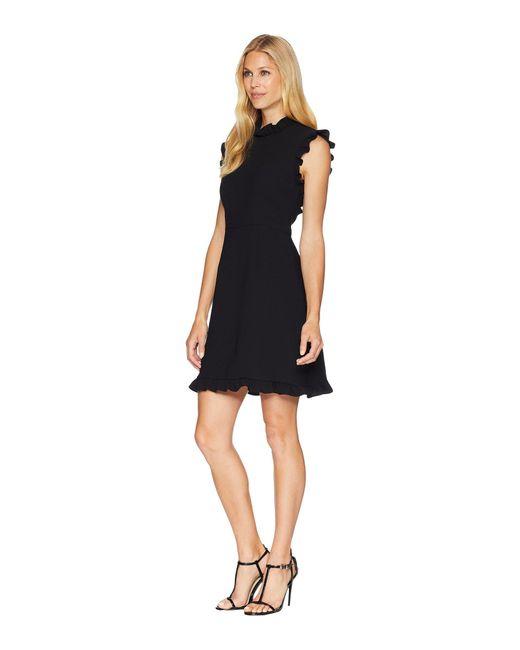 Lyst Jill Jill Stuart Little Black Dress With Open Back In Black