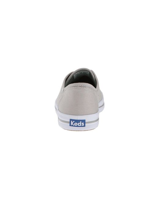 6cc3d390a59 Lyst - Keds Kickstart Eyelet Stripe in Gray - Save 56%