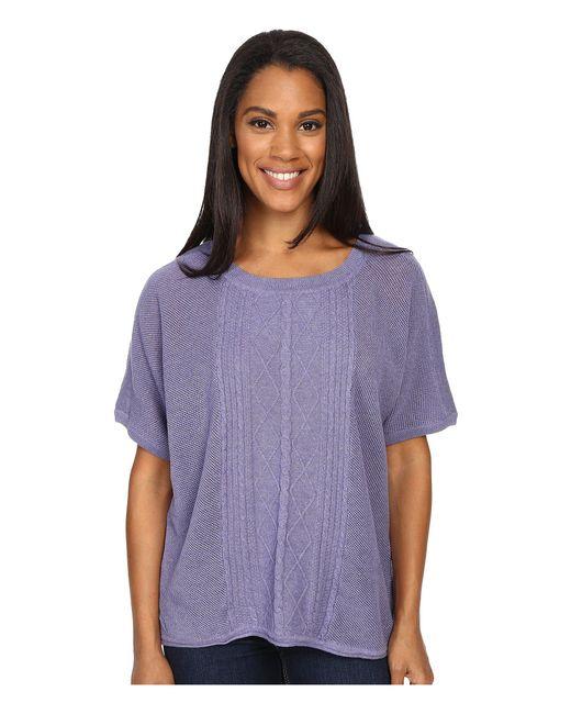 Prana - Purple Nadine Sweater - Lyst