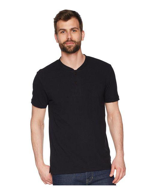 Lucky Brand - Black Coolmax Bomber Polo Shirt for Men - Lyst