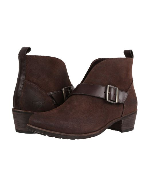 Ugg - Brown Wright Belted - Lyst