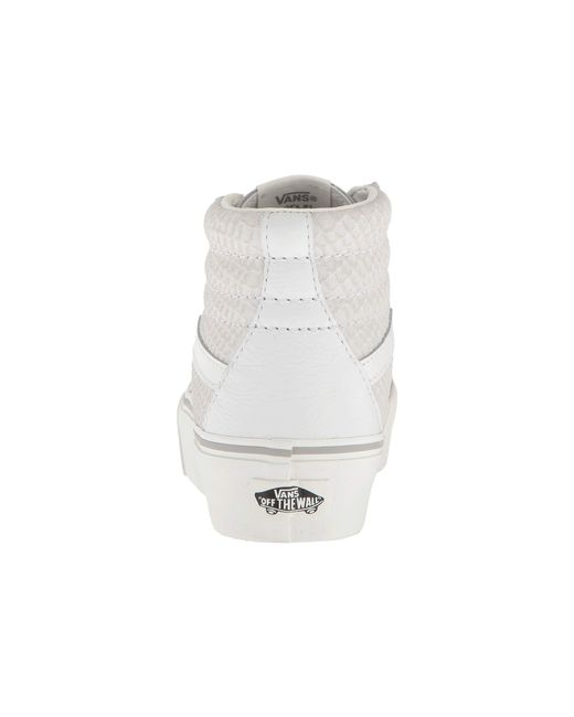 2fdcbd3dad Lyst - Vans Sk8-hi Platform 2.0 in White - Save 31%