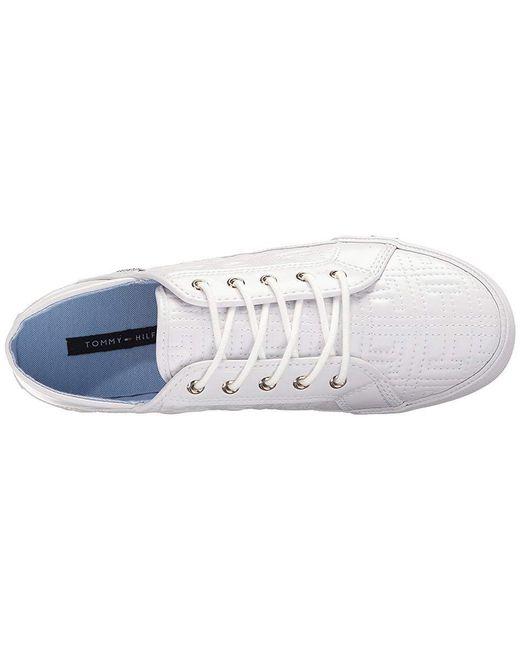 8b406cc4 ... Tommy Hilfiger - Aleeh (white) Shoes - Lyst ...
