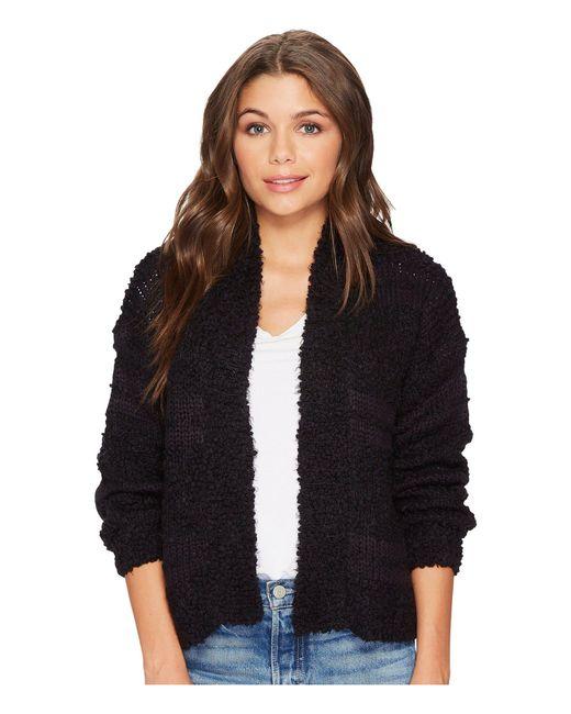 Billabong - Black Just Fur You Sweater - Lyst