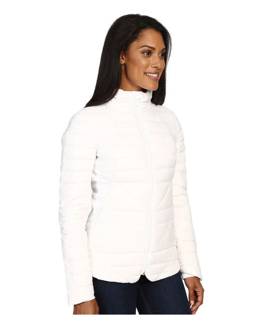 e979095b7a43 Lyst - The North Face Lucia Hybrid Down Jacket in White - Save 60%
