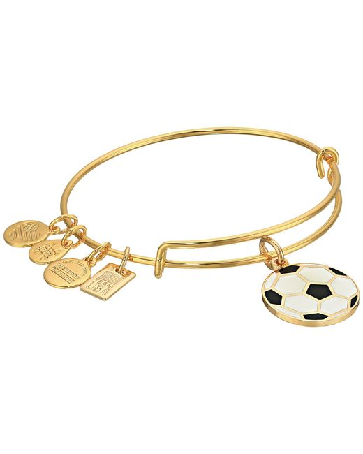 ALEX AND ANI - Metallic Team Usa Soccer Bangle - Lyst