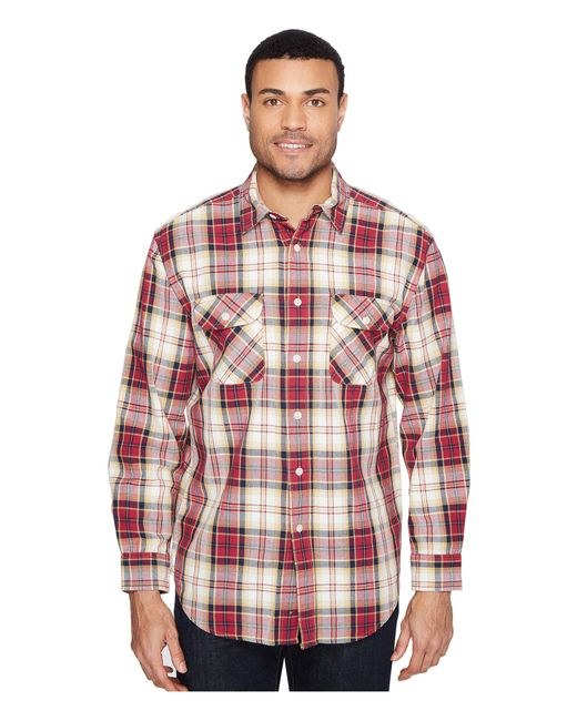 Pendleton | Red Beach Shack Twill 100% Soft Cotton for Men | Lyst