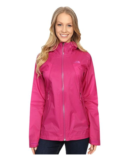 The North Face - Pink Venture Fastpack Jacket - Lyst
