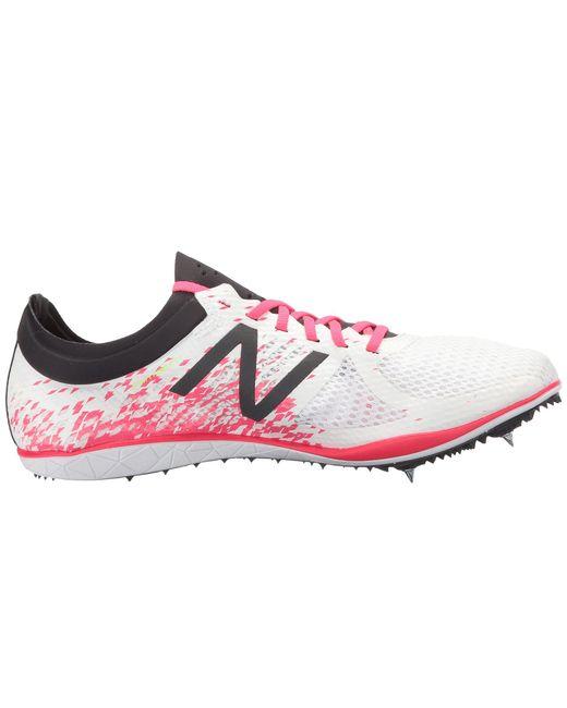 ... New Balance - Pink Ld500v4 Long Distance Spike for Men - Lyst ...