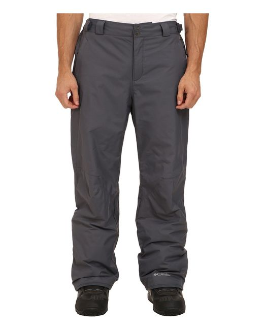 Columbia - Gray Big & Tall Bugabootm Ii Pant for Men - Lyst