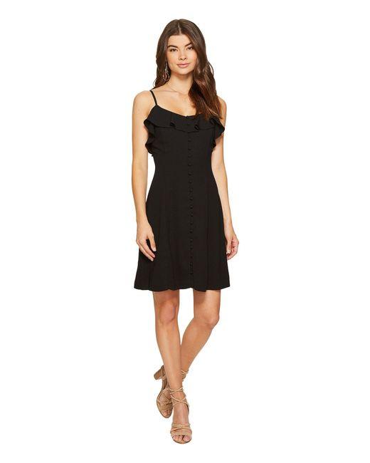 Lyst Kensie Luxury Crepe Dress Ks7k7972 In Black Save 36