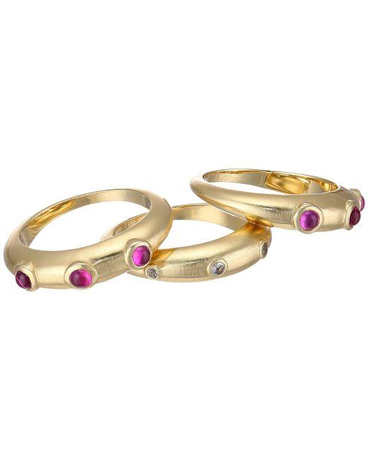 Garrett Ring in Metallic Gold. - size 6 (also in ) Elizabeth & James 1AP1rZ