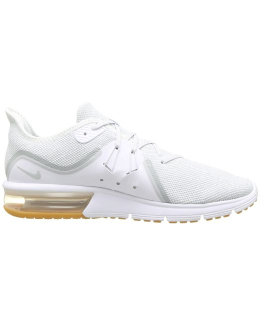 b54fb3d4194 Lyst - Nike Air Max Sequent 3 in White for Men - Save 41%
