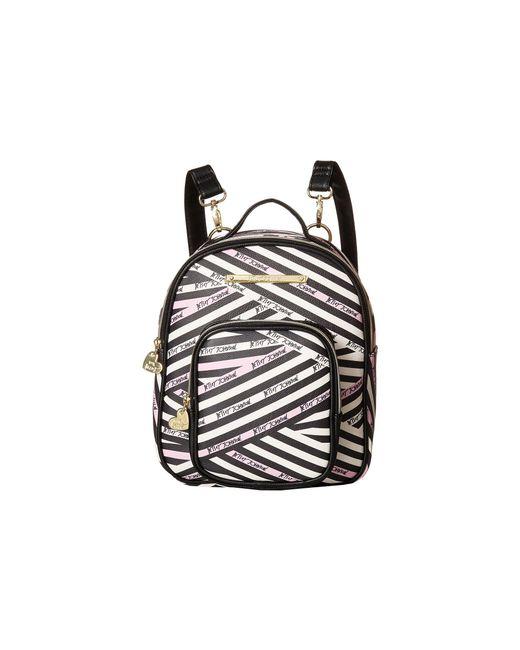 Betsey Johnson - Black Mini Convertible Backpack - Lyst